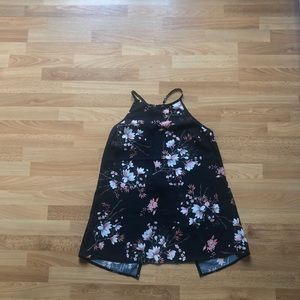 Miss Selfridge Floral Halter Top